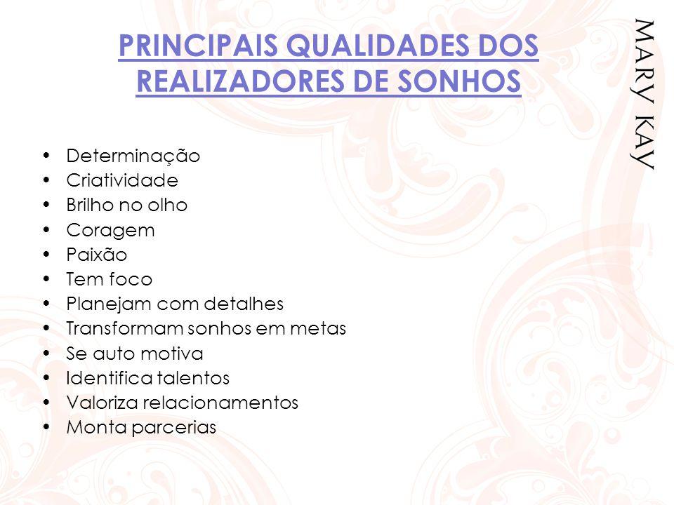 PRINCIPAIS QUALIDADES DOS REALIZADORES DE SONHOS