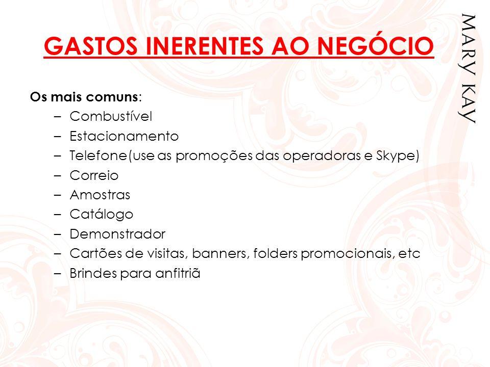 GASTOS INERENTES AO NEGÓCIO