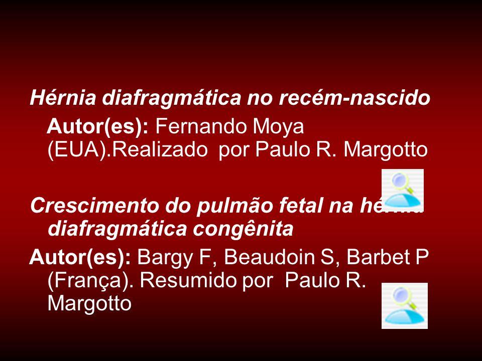 Hérnia diafragmática no recém-nascido