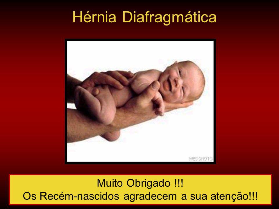 Os Recém-nascidos agradecem a sua atenção!!!