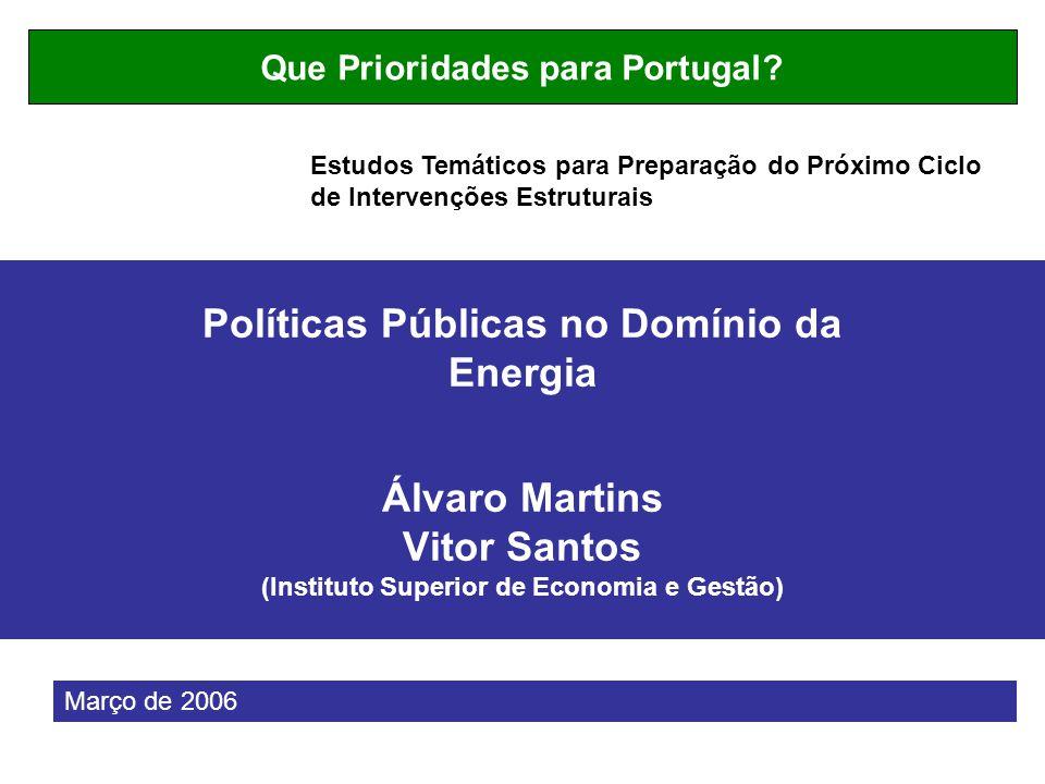 Que Prioridades para Portugal