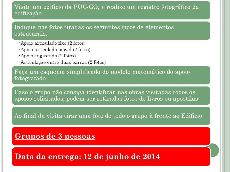 Data da entrega: 12 de junho de 2014