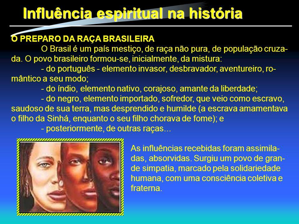 Influência espiritual na história
