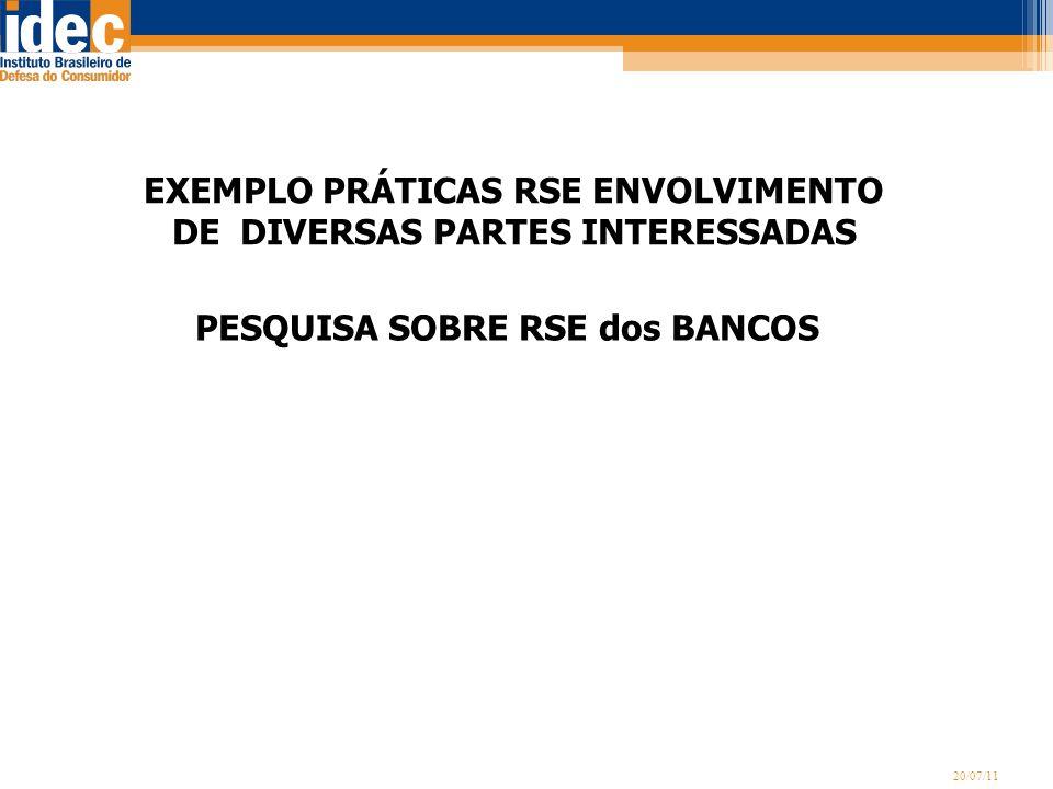 EXEMPLO PRÁTICAS RSE ENVOLVIMENTO DE DIVERSAS PARTES INTERESSADAS