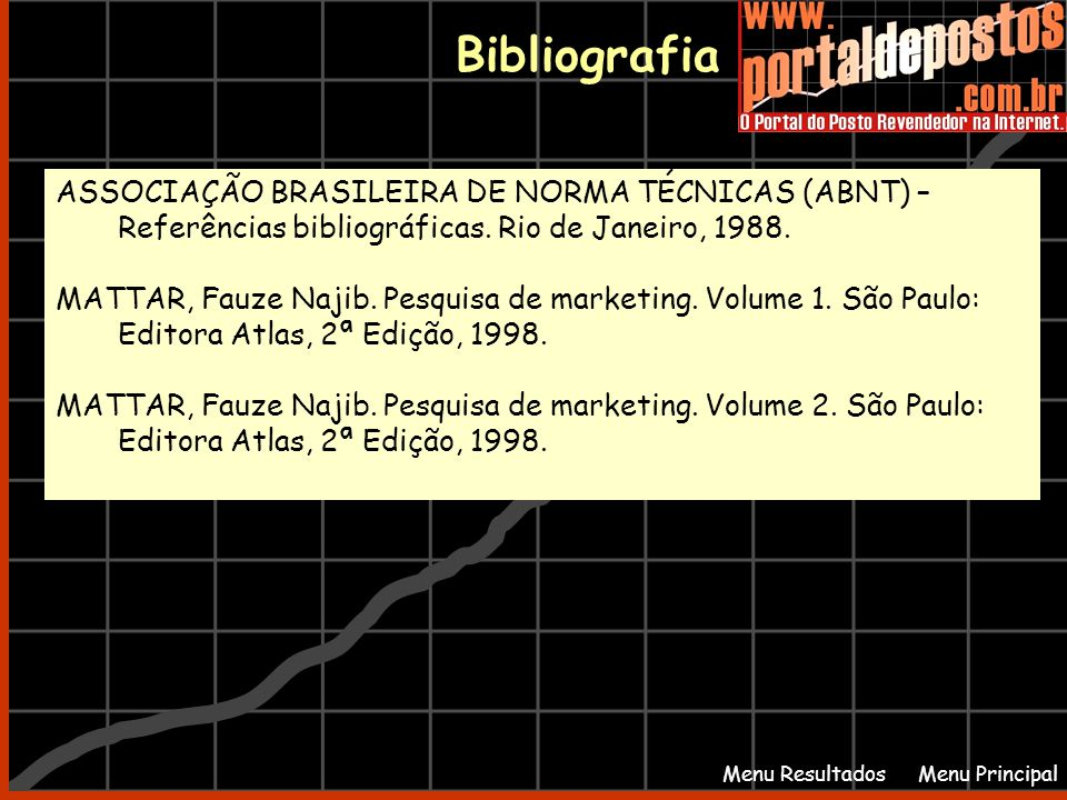 Bibliografia ASSOCIAÇÃO BRASILEIRA DE NORMA TÉCNICAS (ABNT) –