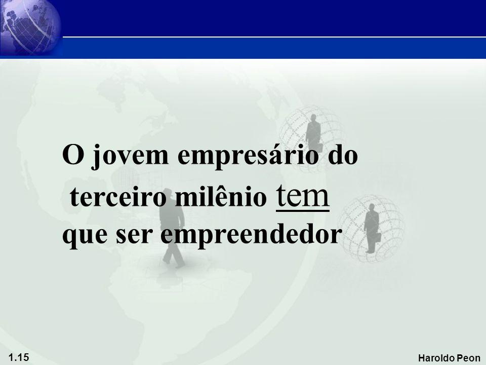 O jovem empresário do terceiro milênio tem que ser empreendedor