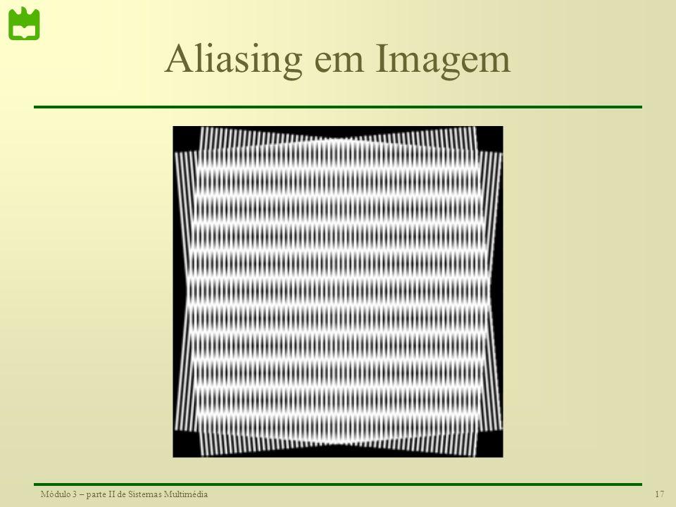 Aliasing em Imagem