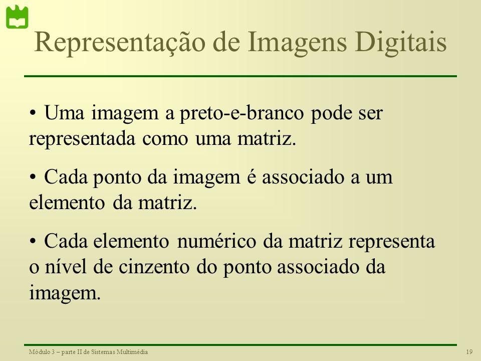 Representação de Imagens Digitais
