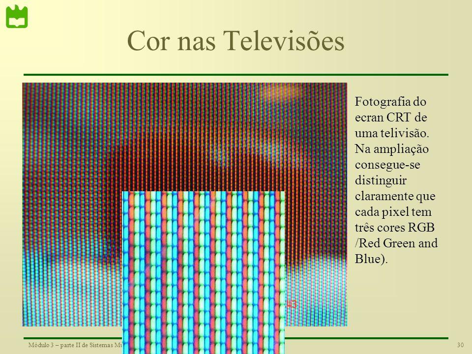 Cor nas Televisões