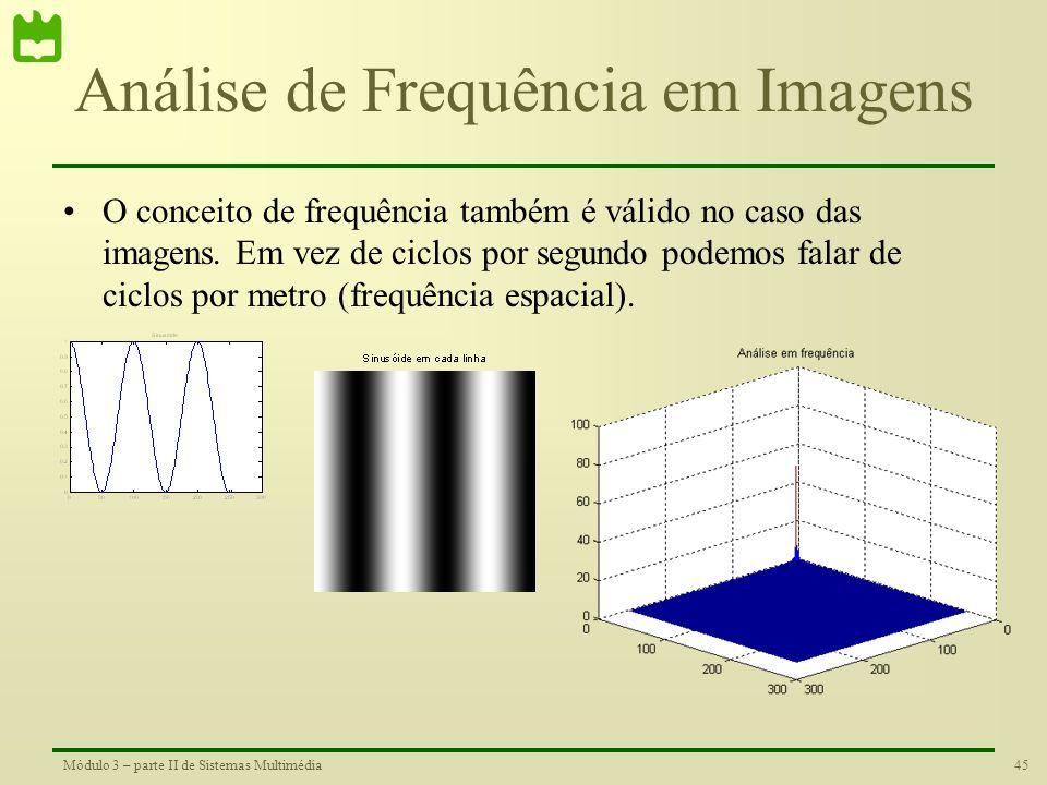 Análise de Frequência em Imagens