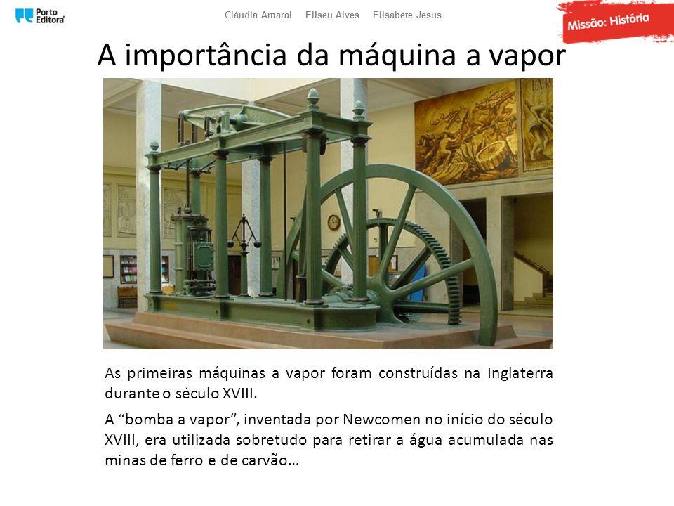 A importância da máquina a vapor