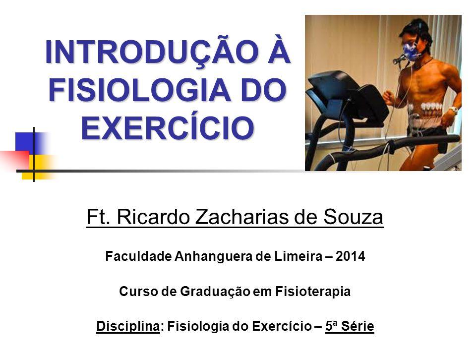 INTRODUÇÃO À FISIOLOGIA DO EXERCÍCIO