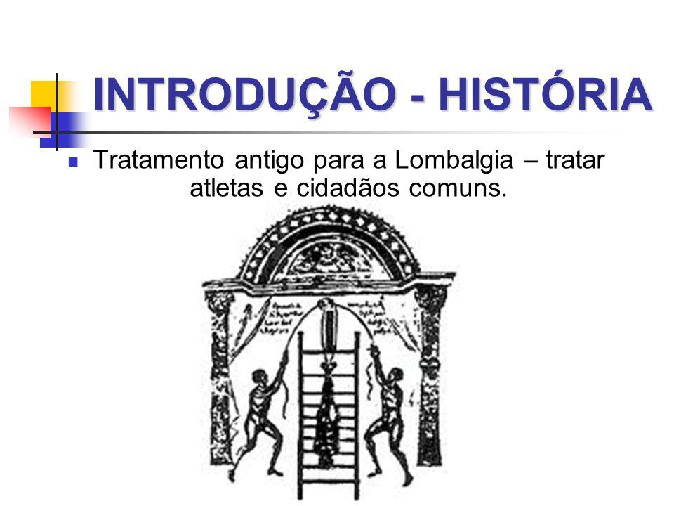 Tratamento antigo para a Lombalgia – tratar atletas e cidadãos comuns.