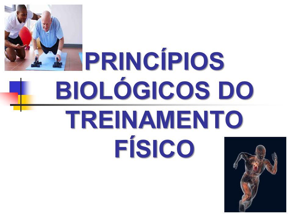 PRINCÍPIOS BIOLÓGICOS DO TREINAMENTO FÍSICO
