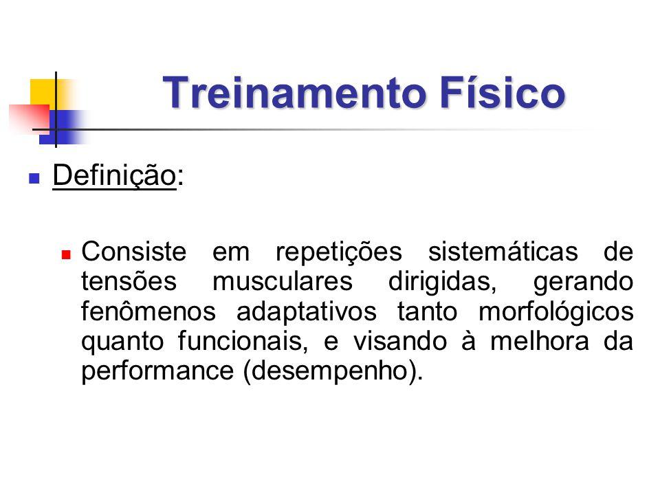 Treinamento Físico Definição: