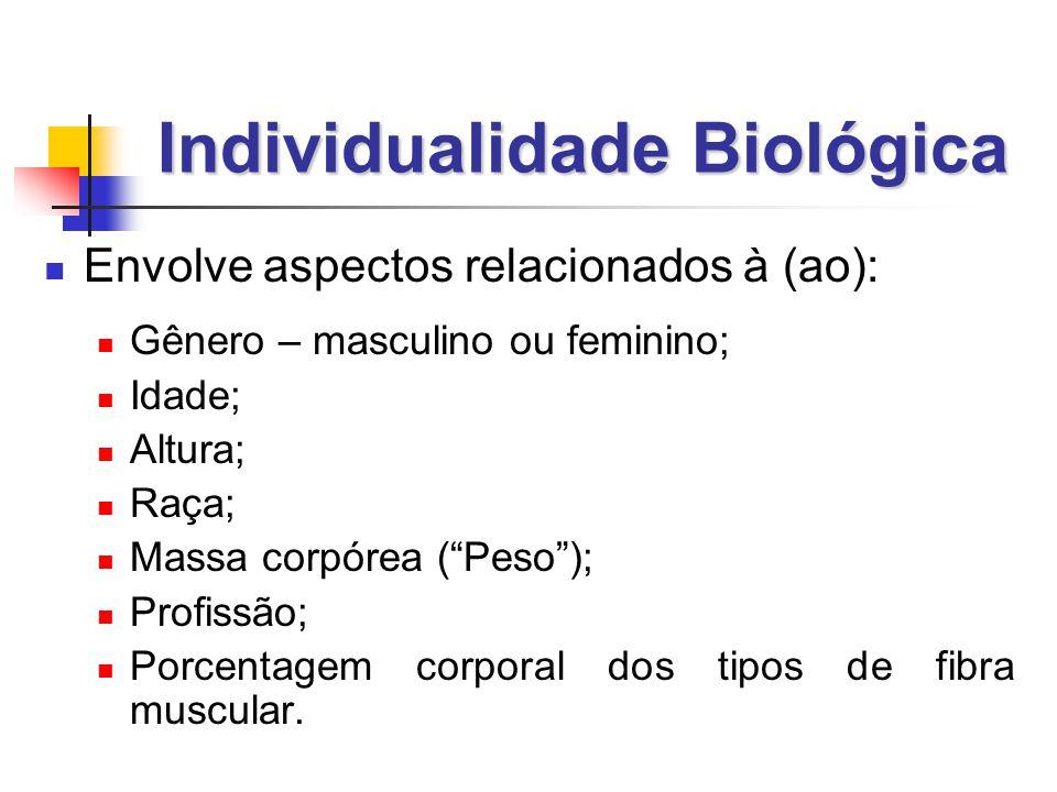 Individualidade Biológica