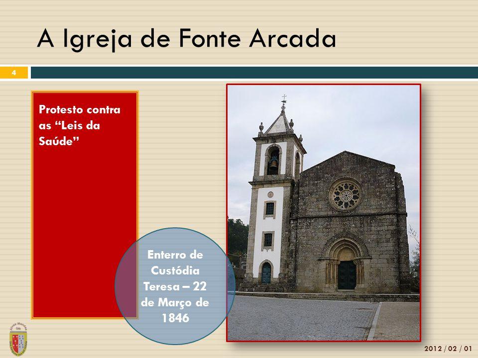 A Igreja de Fonte Arcada
