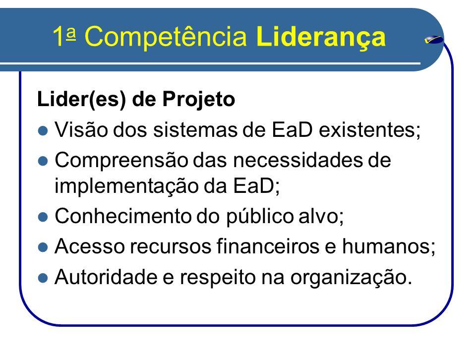 1a Competência Liderança