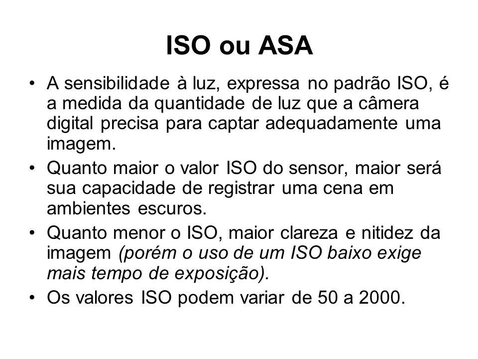 ISO ou ASA