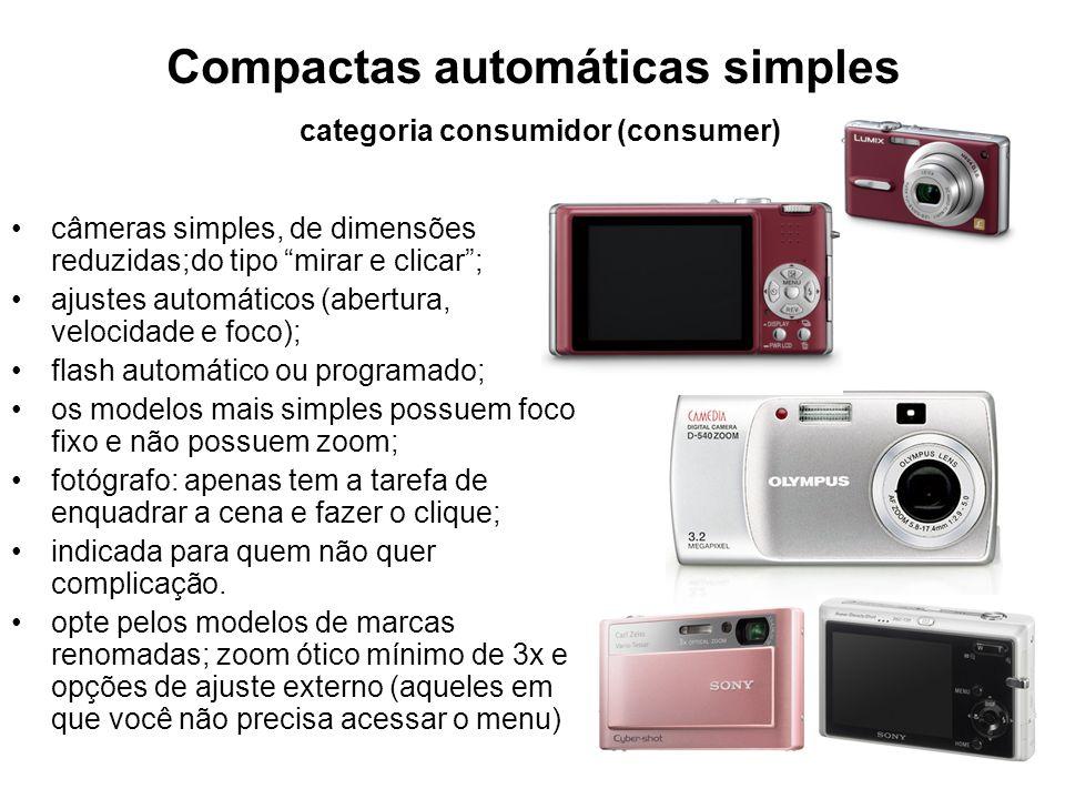 Compactas automáticas simples categoria consumidor (consumer)