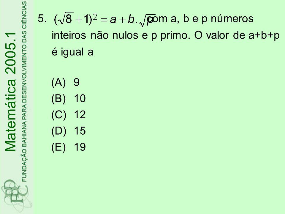 com a, b e p números inteiros não nulos e p primo
