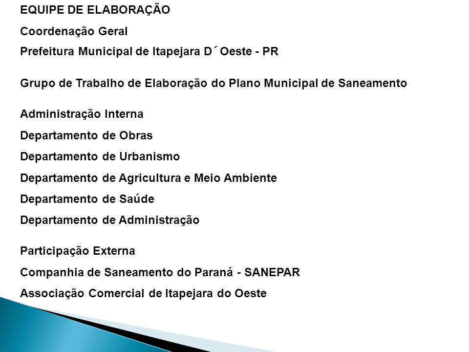 Prefeitura Municipal de Palmas - Gestão 2009-2012