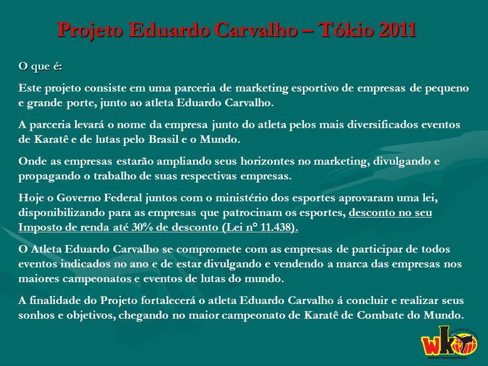 Projeto Eduardo Carvalho – Tókio 2011