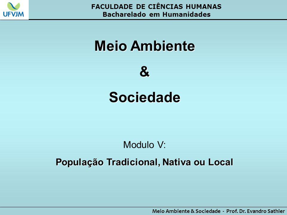 Meio Ambiente & Sociedade