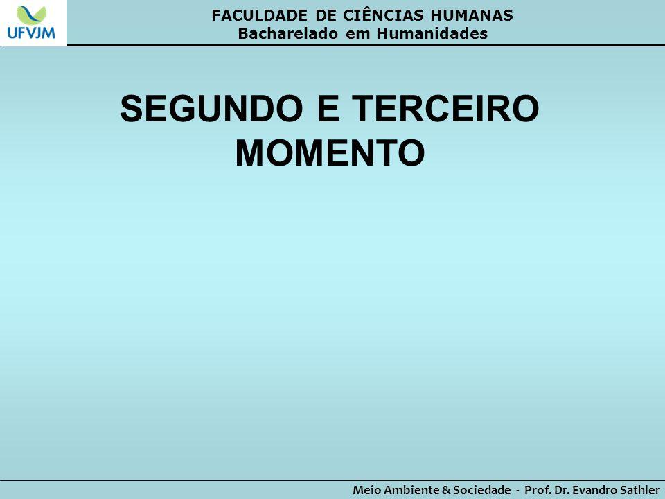 SEGUNDO E TERCEIRO MOMENTO