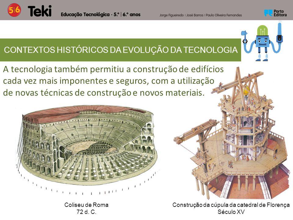 CONTEXTOS HISTÓRICOS DA EVOLUÇÃO DA TECNOLOGIA