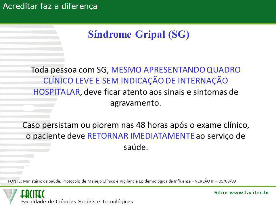 Síndrome Gripal (SG)