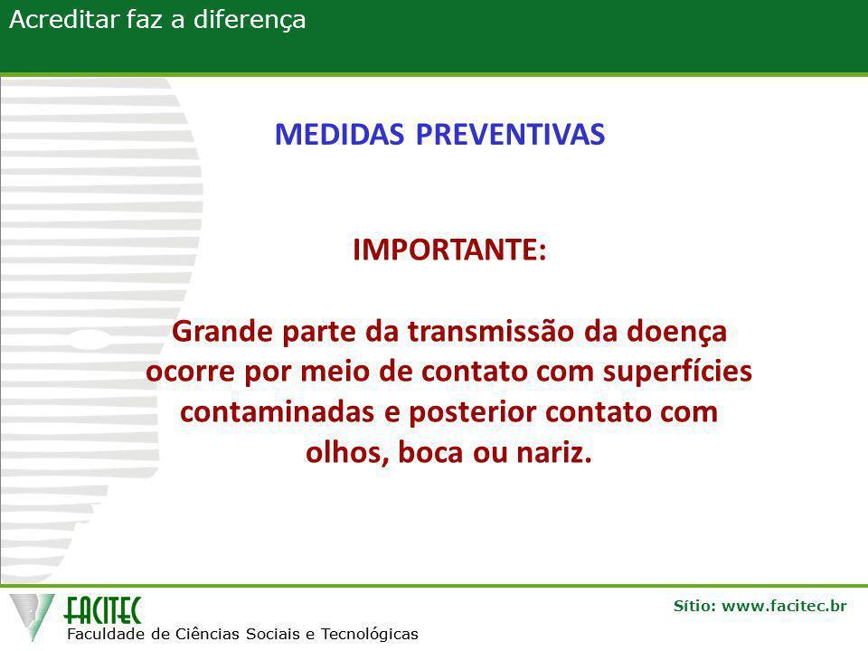 MEDIDAS PREVENTIVAS IMPORTANTE: