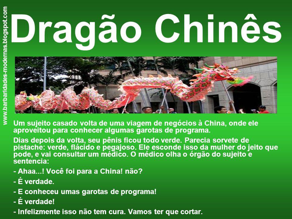 Dragão Chinês www.barbaridades-modernas.blogspot.com.