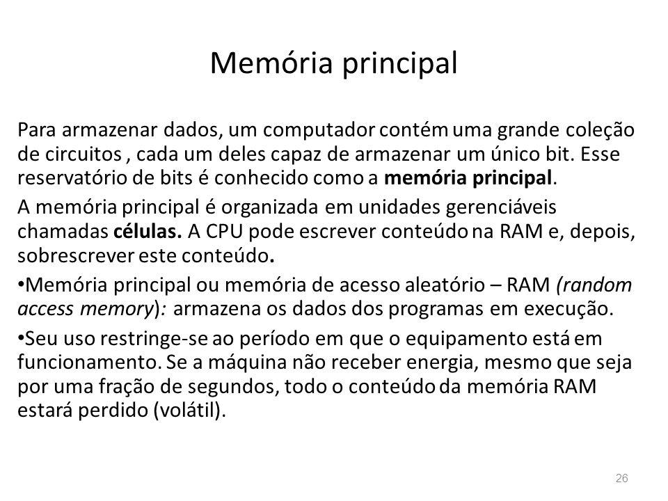 Memória principal