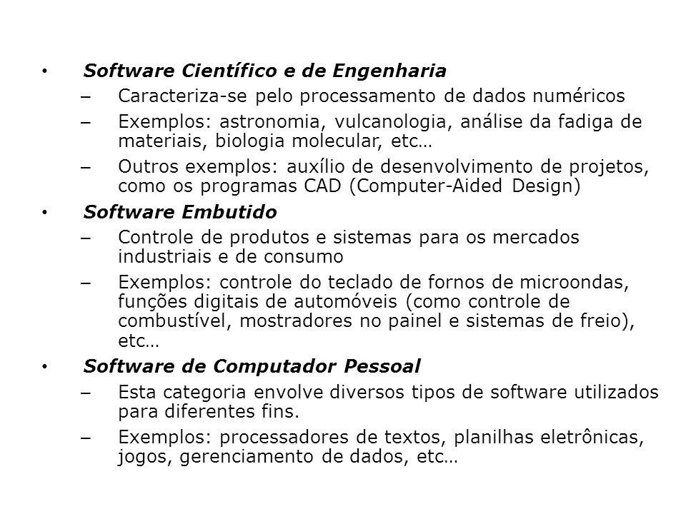 Software Científico e de Engenharia