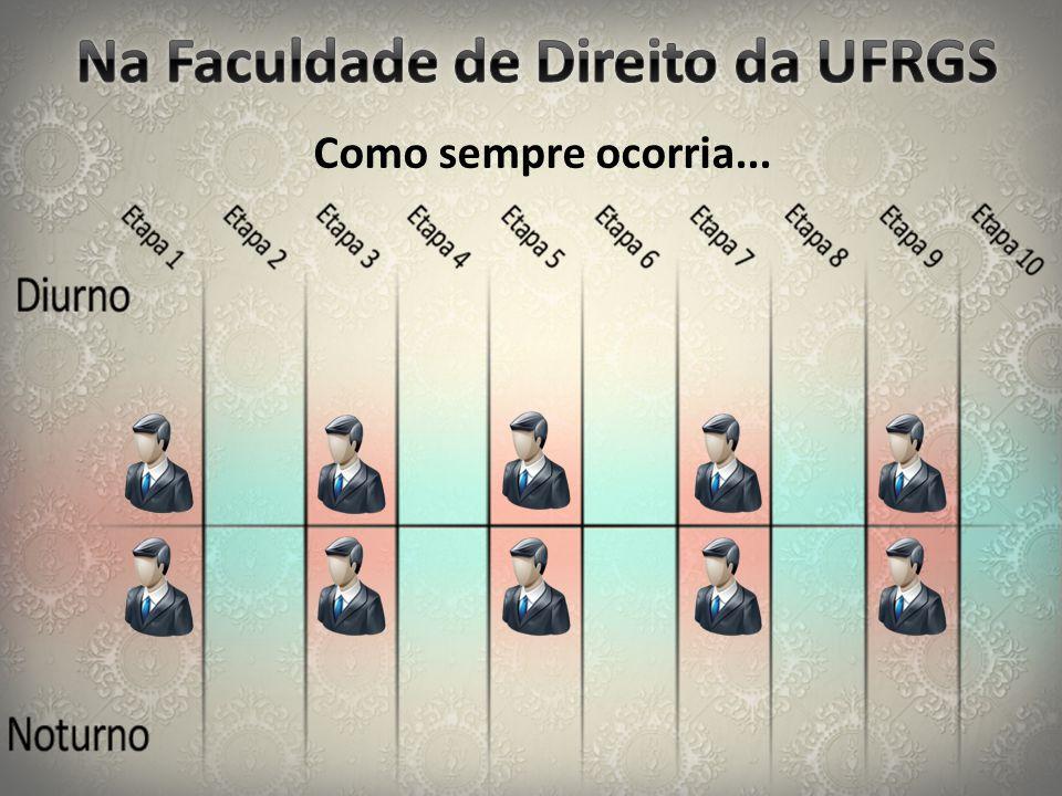 Na Faculdade de Direito da UFRGS