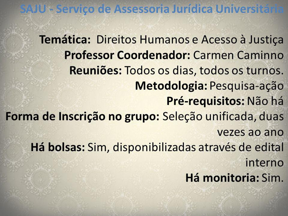 SAJU - Serviço de Assessoria Jurídica Universitária