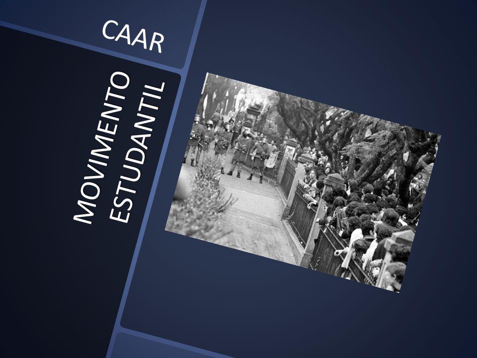 CAAR MOVIMENTO ESTUDANTIL