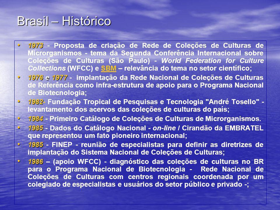 Brasil – Histórico
