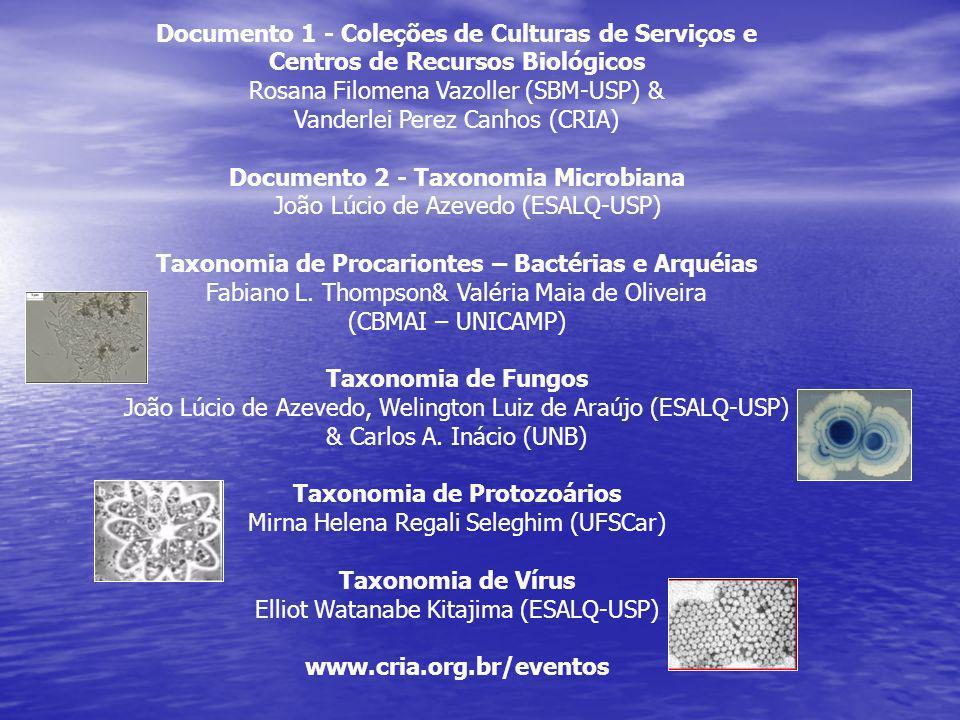 Documento 1 - Coleções de Culturas de Serviços e