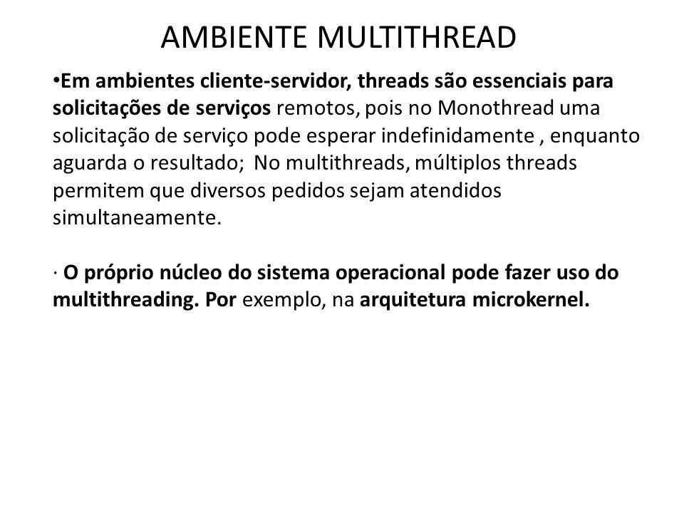 AMBIENTE MULTITHREAD