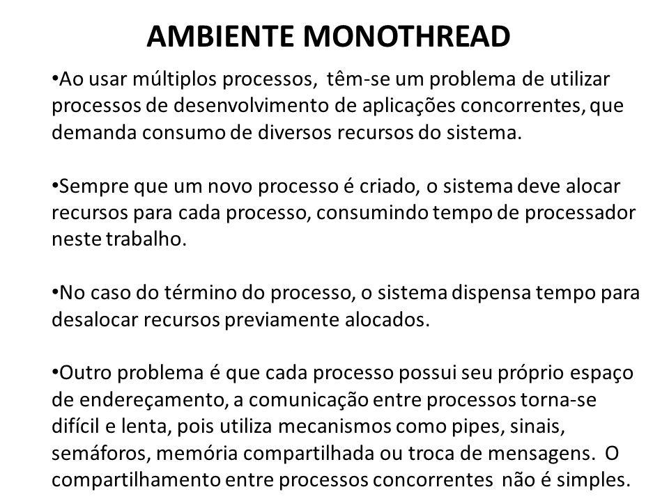 AMBIENTE MONOTHREAD
