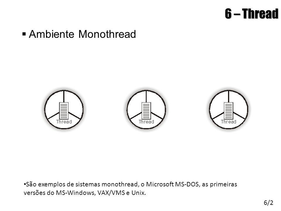 6 – Thread Ambiente Monothread