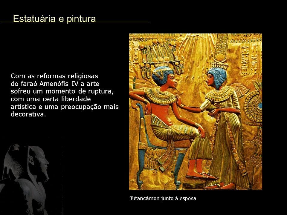 Estatuária e pintura Com as reformas religiosas