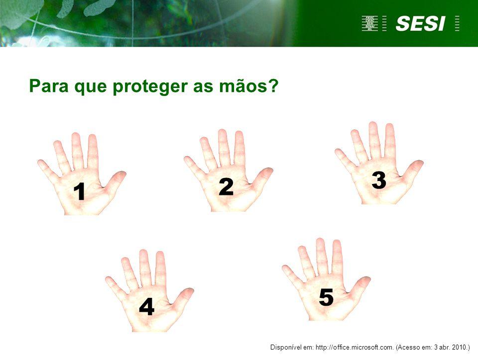 Para que proteger as mãos