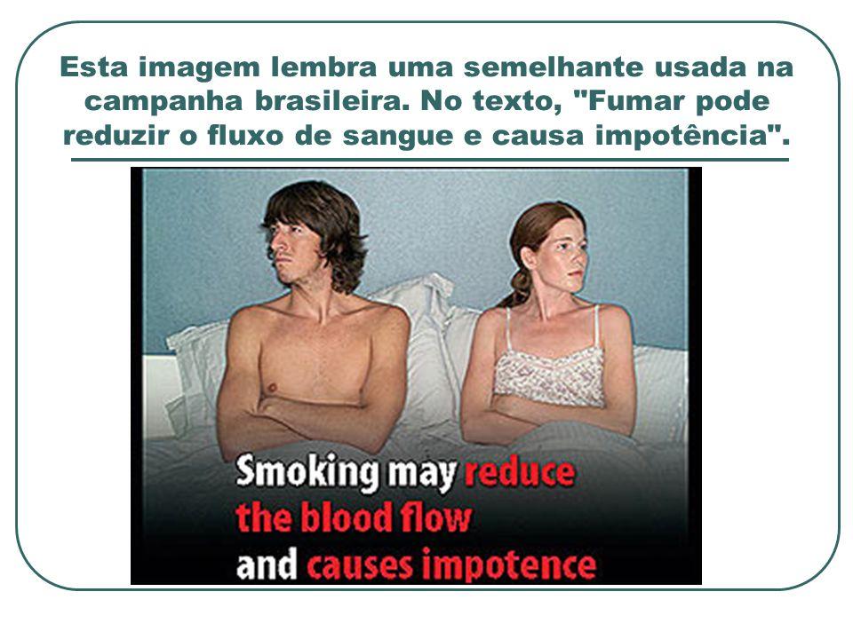 Esta imagem lembra uma semelhante usada na campanha brasileira