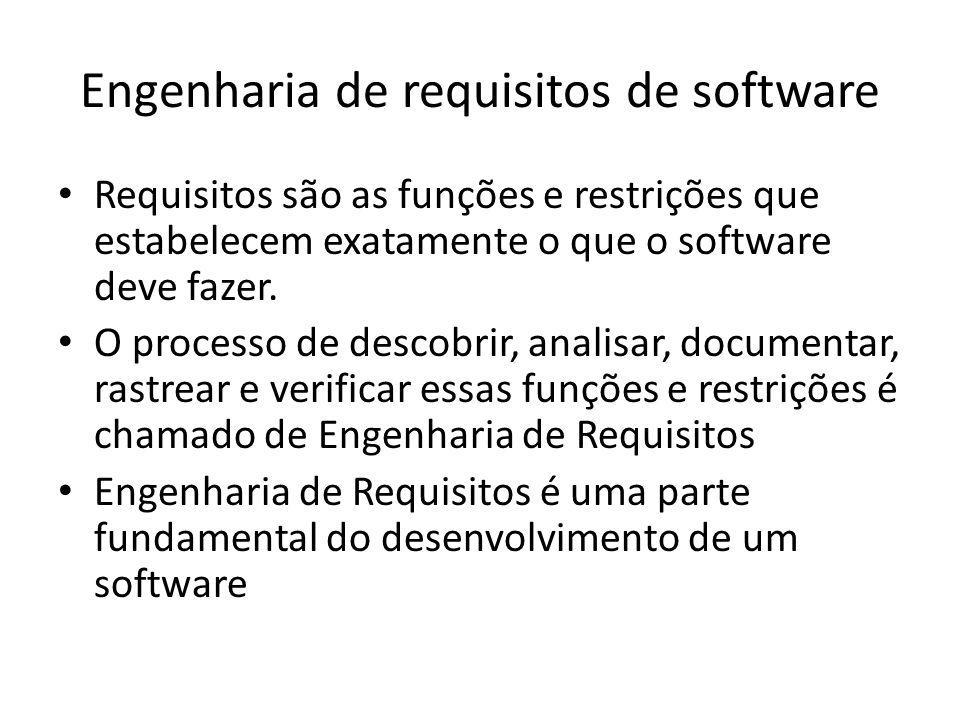 Engenharia de requisitos de software