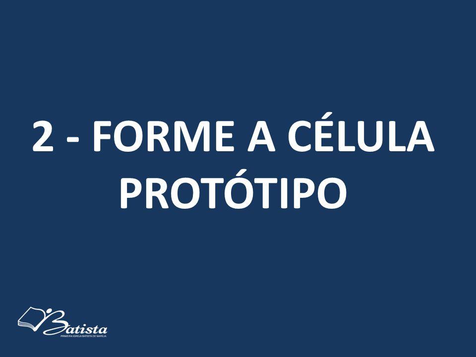 2 - FORME A CÉLULA PROTÓTIPO