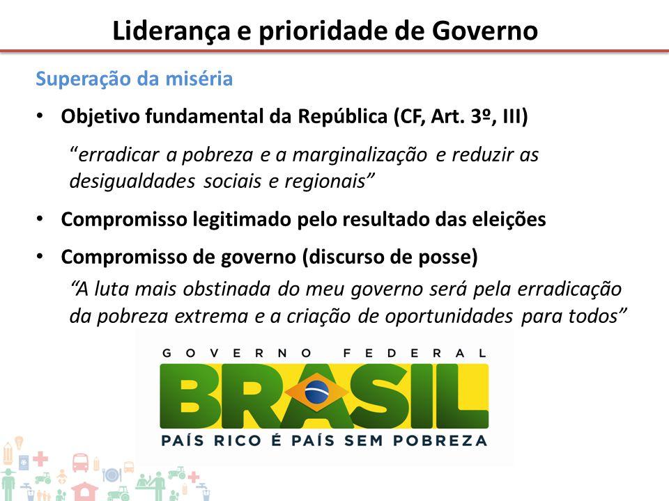Liderança e prioridade de Governo
