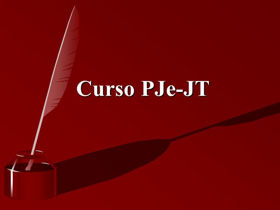 Curso PJe-JT